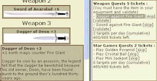 Weapon Quests