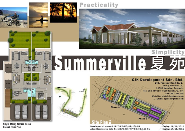 Single Storey Terrace @ SummerVille 夏苑 Miri (Esplanade Miri)