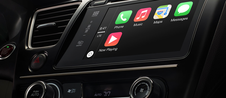Apple Announces CarPlay