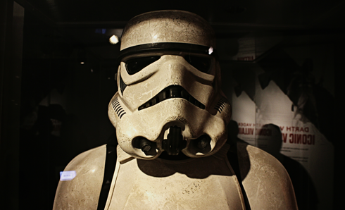 stormtrooper star wars power of costume exhibit