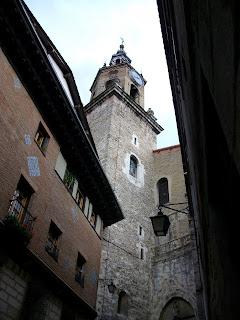 Iglesia de San Miguel Arcángel en Vitoria