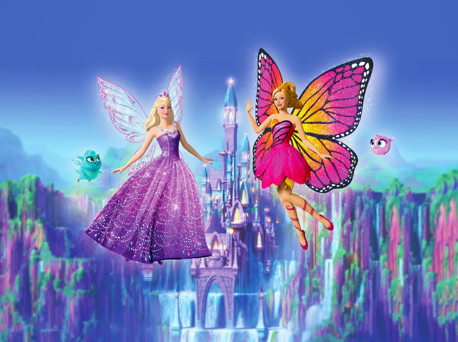 barbie mariposa and the fairy princess 2013 wallpapers