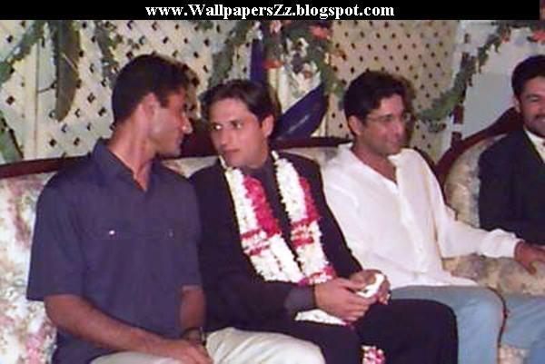Shahid afridi wedding pics with his wife shahid afridi got married