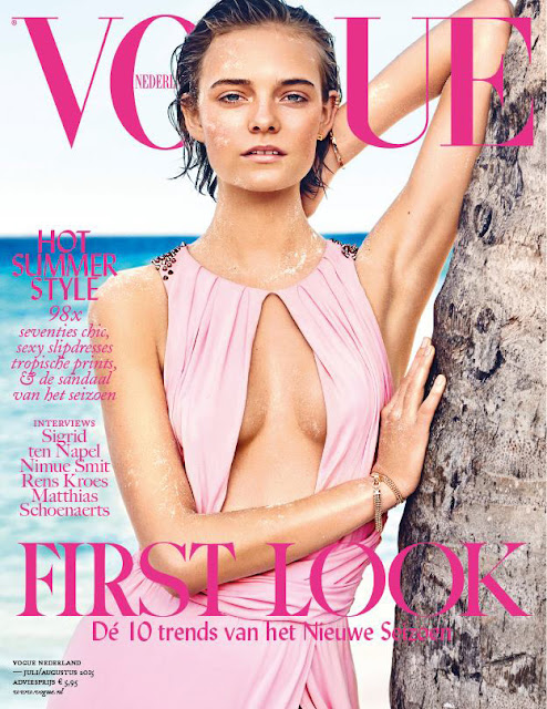 Fashion Model @ Nimue Smit by Marc de Groot for Vogue Netherlands July/August 2015