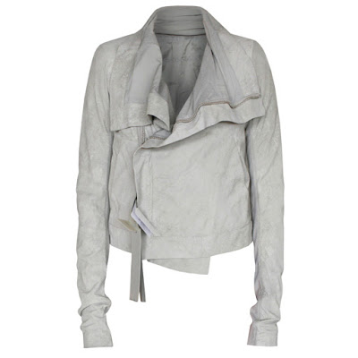 rick owens clean biker jacket sale leather
