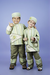 Baju Muslim Lebaran Anak