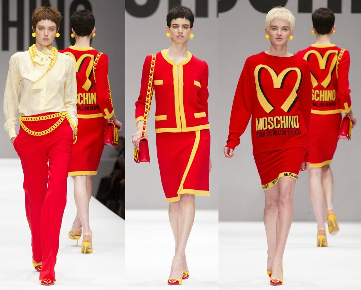 Moschino Autumn Fall Winter 2014 1