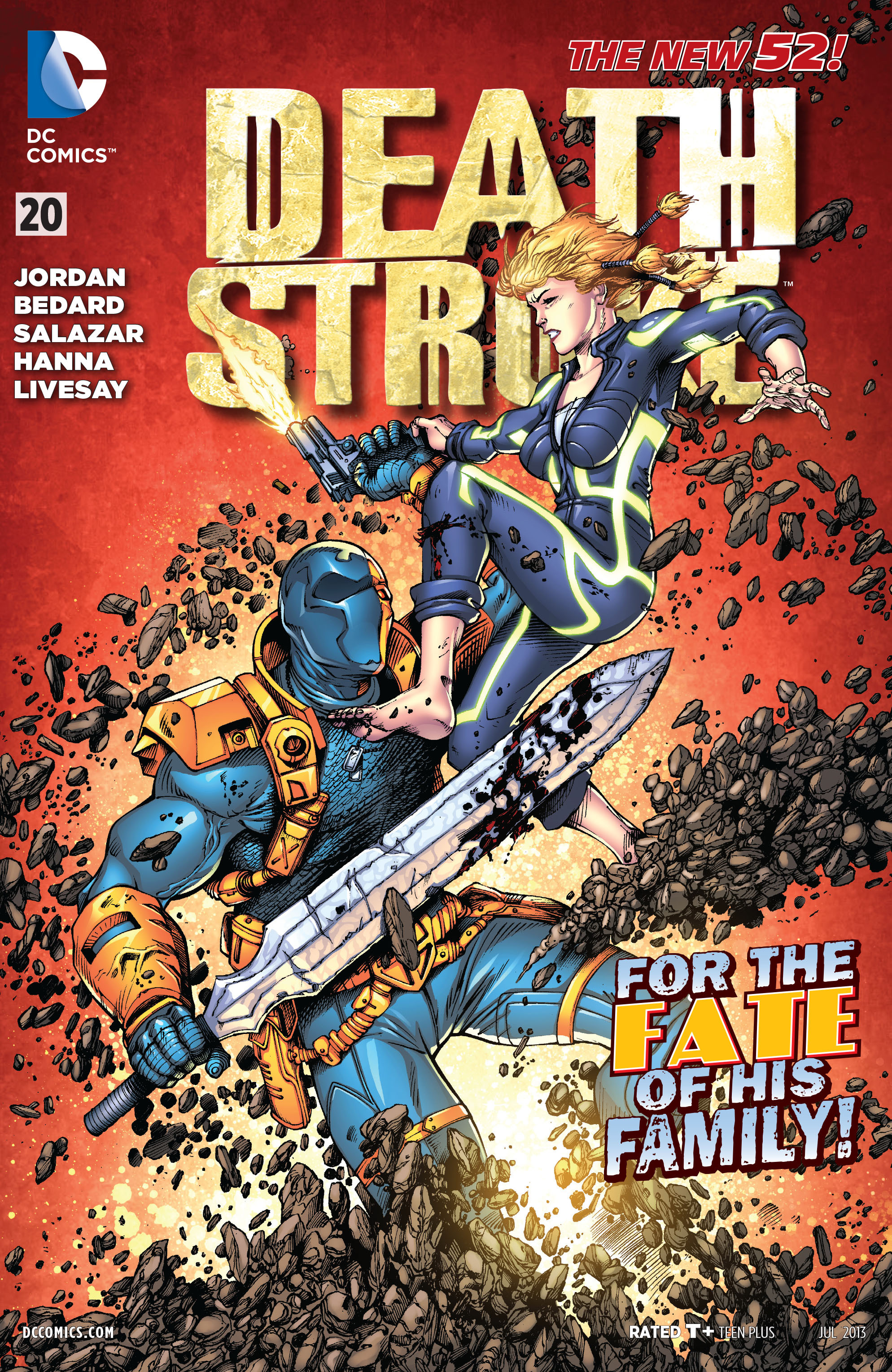 Deathstroke (2011) Issue #20 #21 - English 1