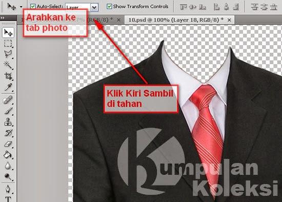 Cara memakai Jas Kemeja Dengan Photoshop