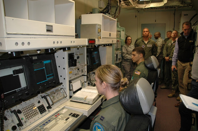Nuclear launch control simulator