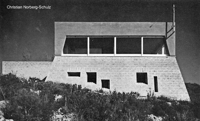 Residencia brutalista italiana de 1960