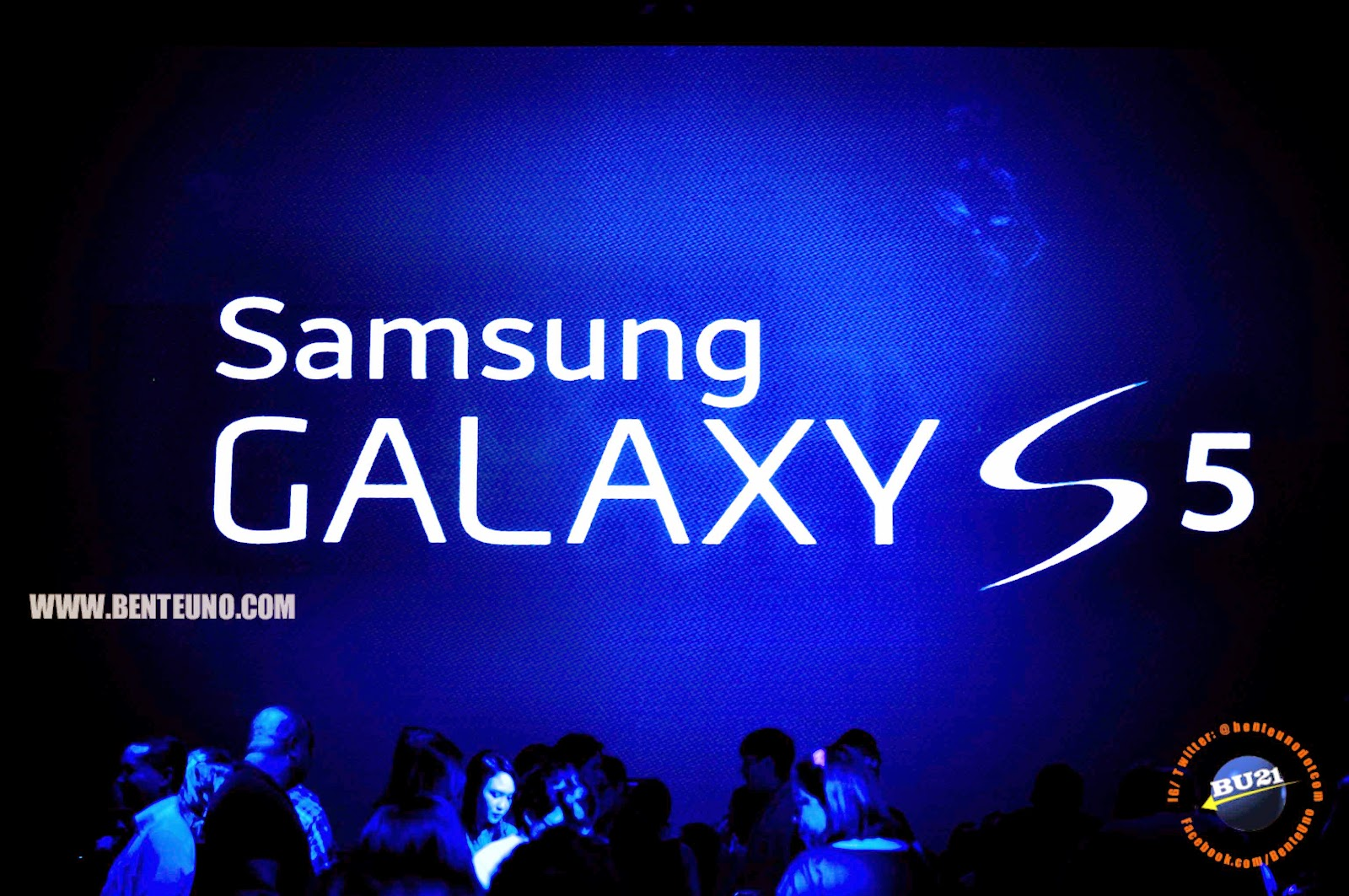 Samsung Galaxy S5 officially unveiled in the Philippines at the Samsung Hall located in SM Aura Premier