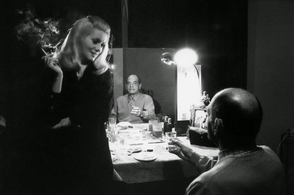 Catherine with Luis Buñuel