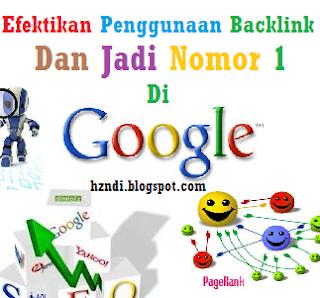 Backlink, SEO, Pagerank, Google