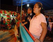 Festa de reinauguração da escola municipal Emídio Moura na Comunidade do Arioré em Ourém