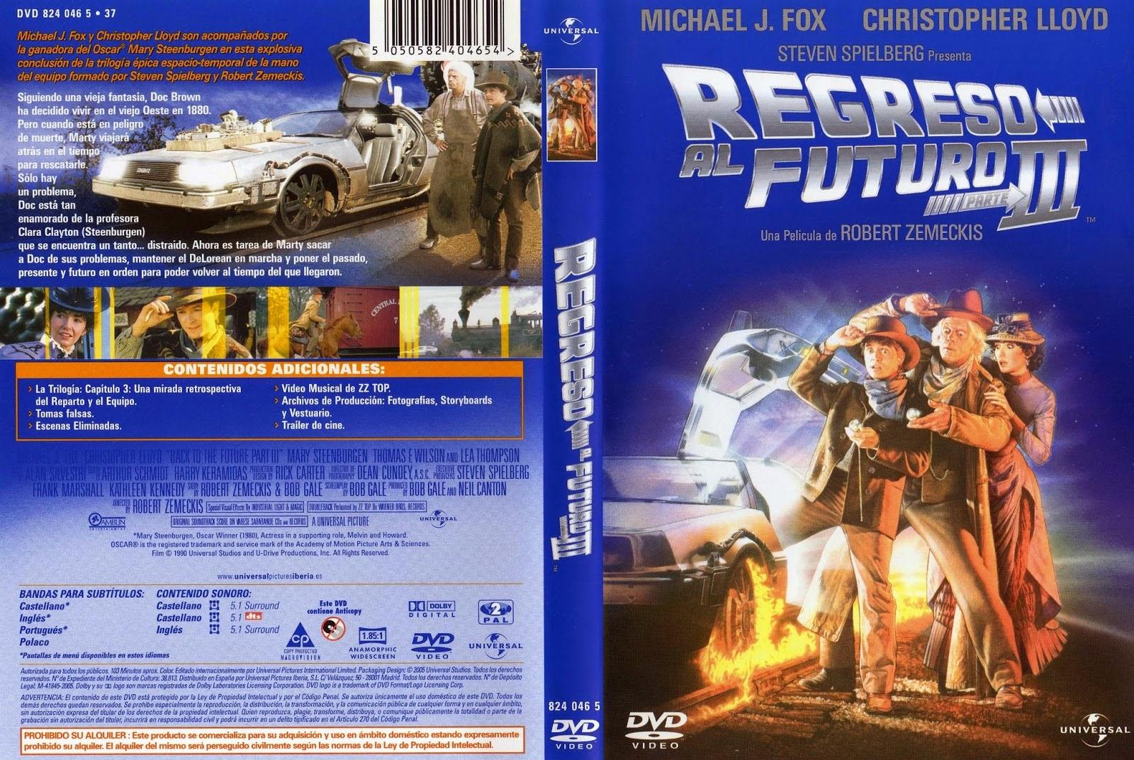 Regreso Al Futuro III DVD