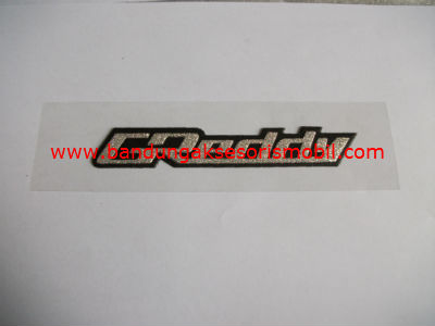 Emblem Metalic Besar Medium Greaddy Hitam