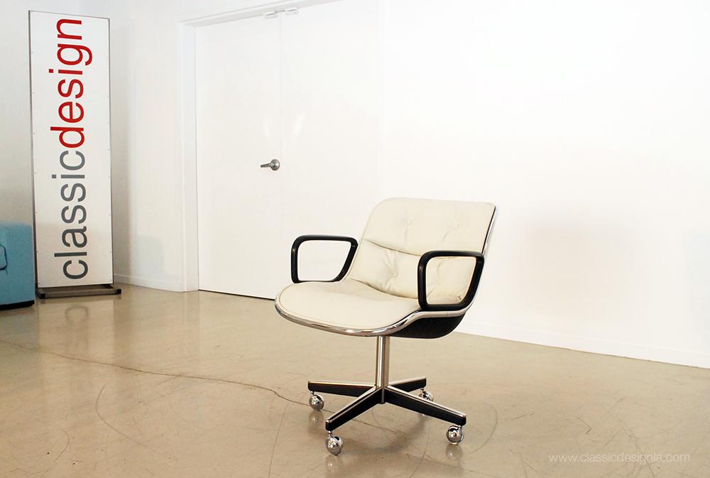 Restored Pollock Executive Armchair