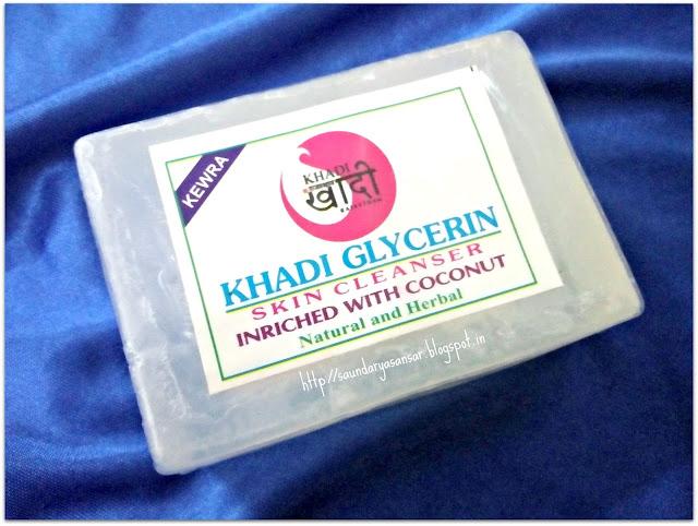 Khadi Sansthan Glycerin Skin Cleanser-Kewra Review