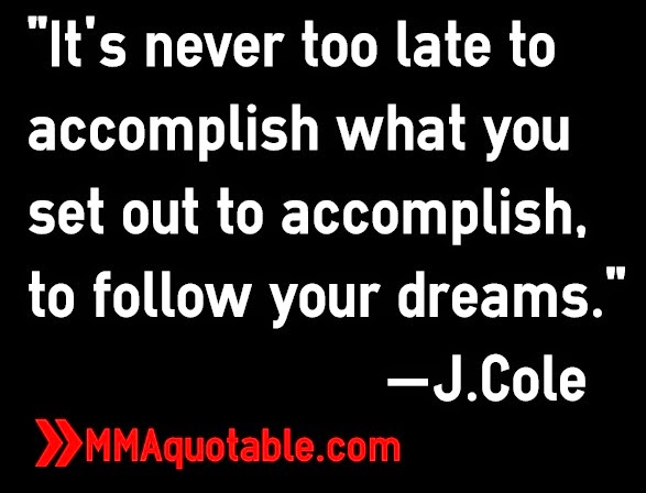 j cole quotes about dreams - photo #14