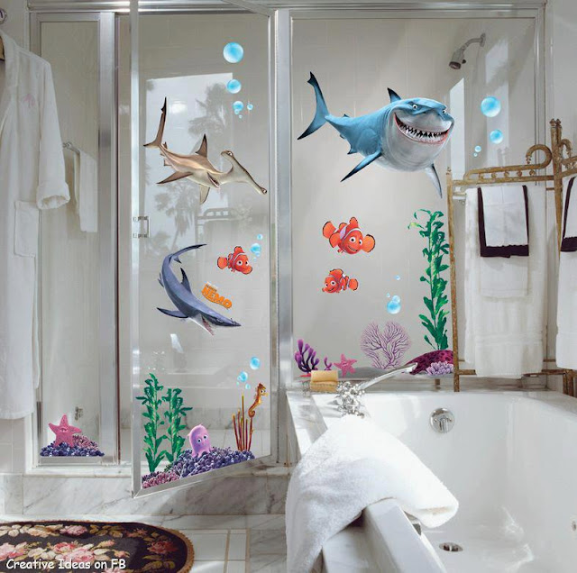 Ideas Baño Para Ninos:Finding Nemo Bathroom Decor
