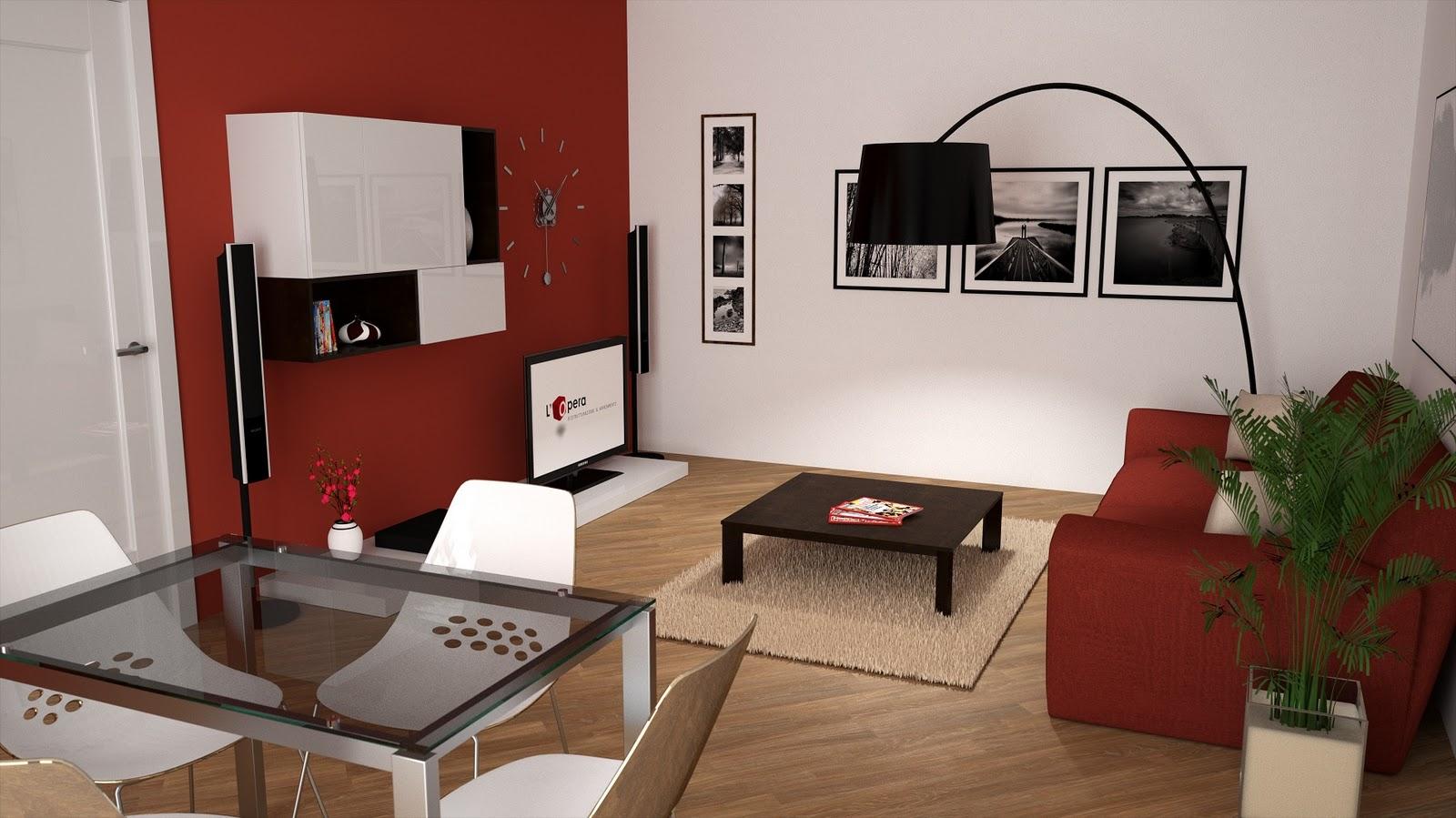 Simo render interni di modelli creati con for Corso di arredatore d interni