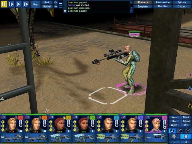 UFO Aftershock - Psionic Sniper Screenshot