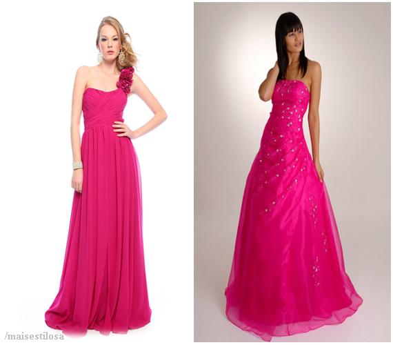 vestido de 15 anos pink