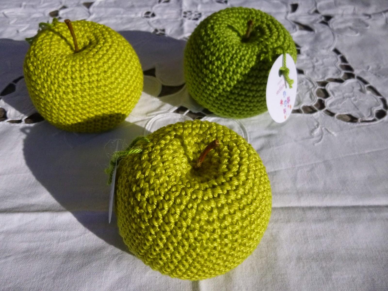 Häkeln im Quadrat: stefanella´s Gypsy-CAL VIII: Apfelgrün