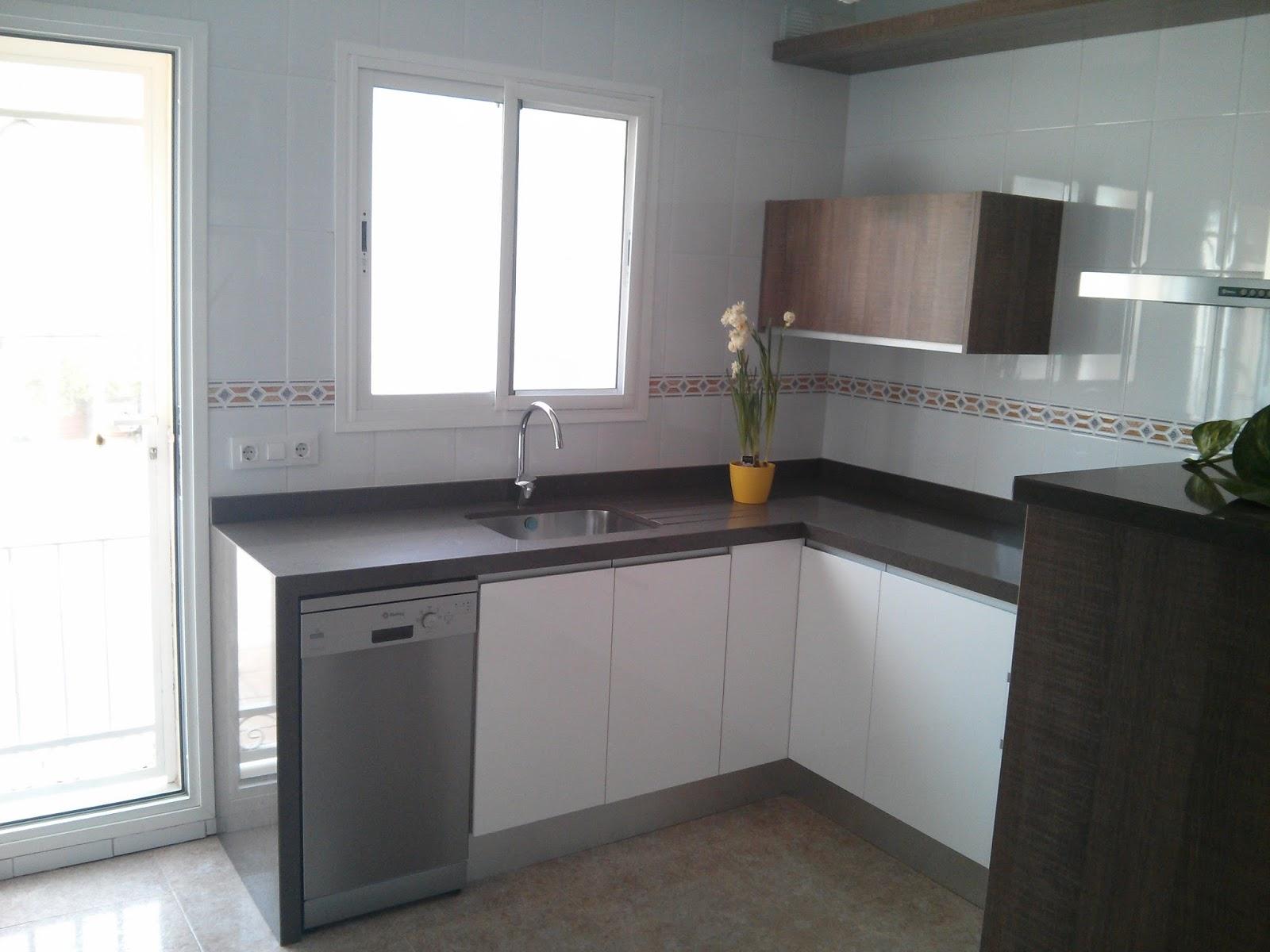 Carpinteria los molinos cocina con modelo de puerta for Cocinas integrales en aluminio