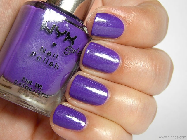 NYX Girls Nail Polish in Complex Purple
