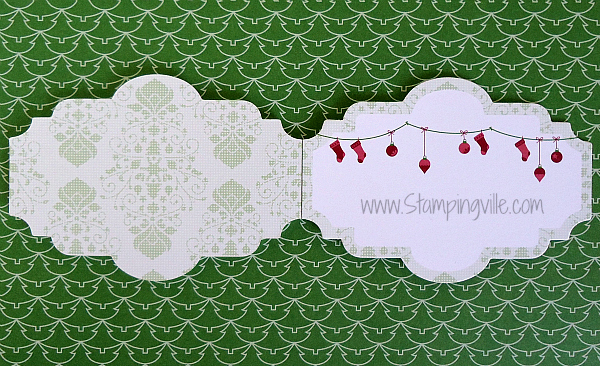 Stampin' Up! Snow Festival Designer Printed Tags