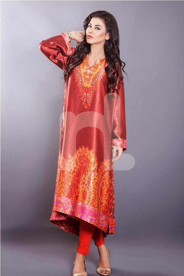 Nisha Fabrics Women Summer Dresses 2015 by Nishat Linen