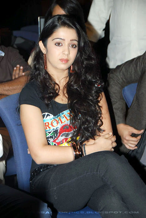 Charmi Actress In Tight Tshirt  hot pictures