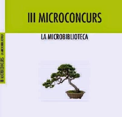 Ja tenim a les mans el llibre recopilatori del III Microconcurs de la Microbiblioteca