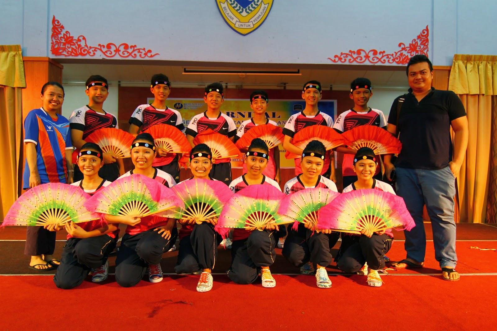 Karnival ASAT Sarawak 2014 : Senam Tari Kenyalang (SM)