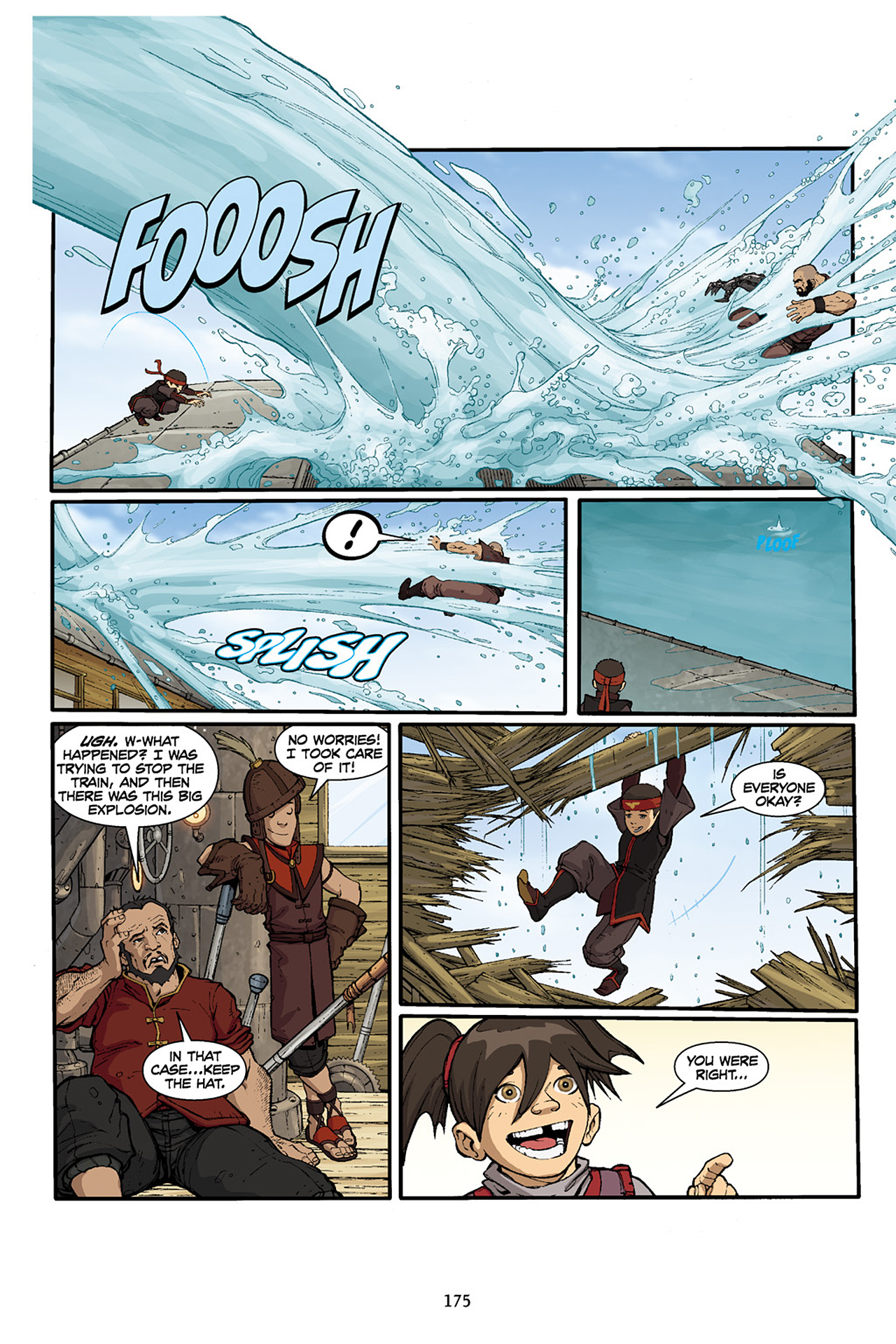 Nickelodeon Avatar: The Last Airbender - The Lost Adventures chap full pic 176