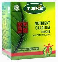 kalsium peninggi badan tiens