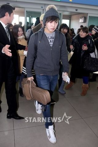 Foto Terbaru Super Junior Bandara Incheon 09