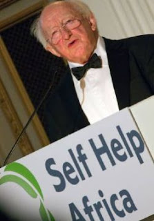 Irish President Michael D. Higgins at the 2012 Change-Maker's Ball