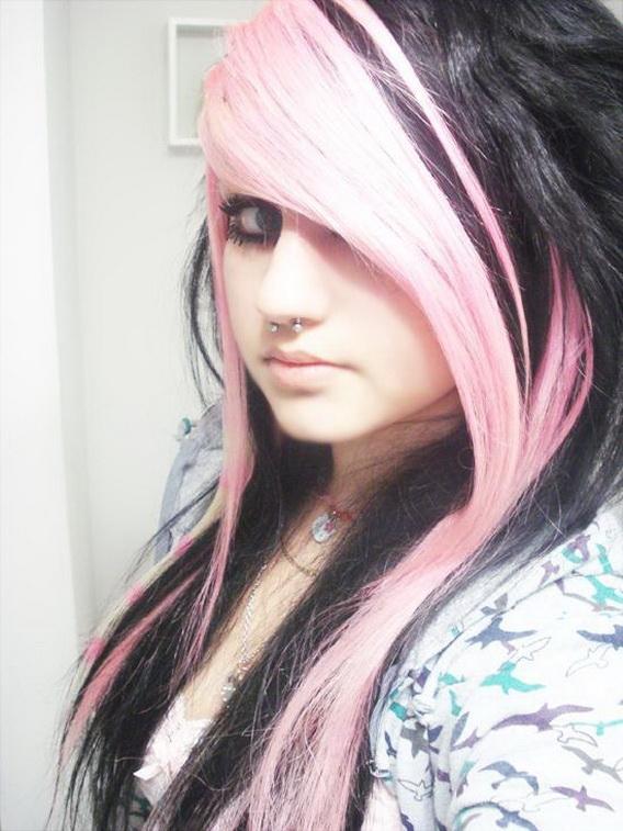 Long Emo Girl Hair Emo Hair Styles For Girls With Long Hair