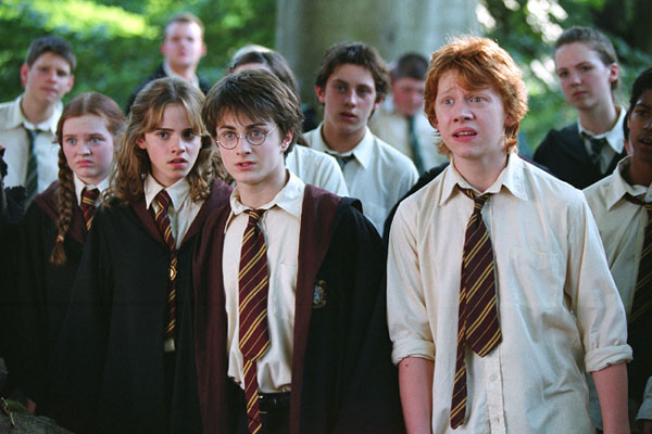 Harry and Ron Weasley in Harry Potter and the Prisoner of Azkaban movieloversreviews.blogspot.com