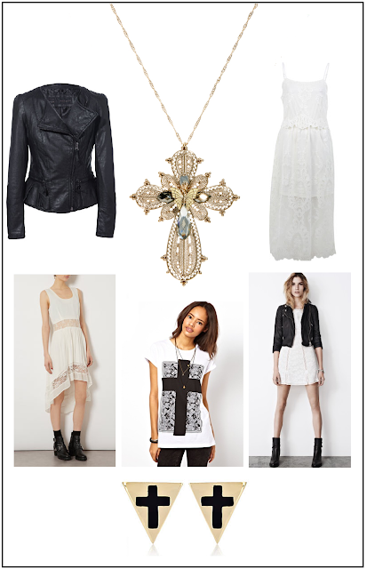 Topshop Mango Asos AllSaints Leather JacketsWhite Dresses
