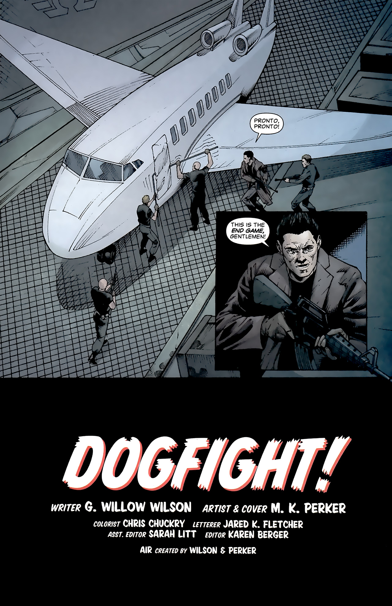 Read online Air comic -  Issue #23 - 3