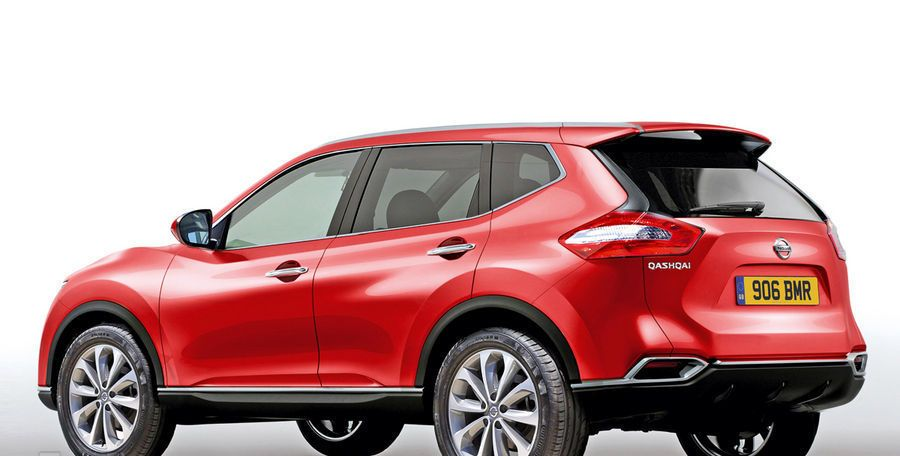 Future Nissan Qashqai 2013 2014: like that?