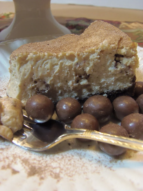 Malted Milk Ball Cheesecake Recipe