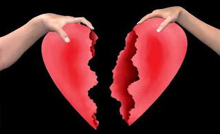 foto gambar putus cinta atau broken heart