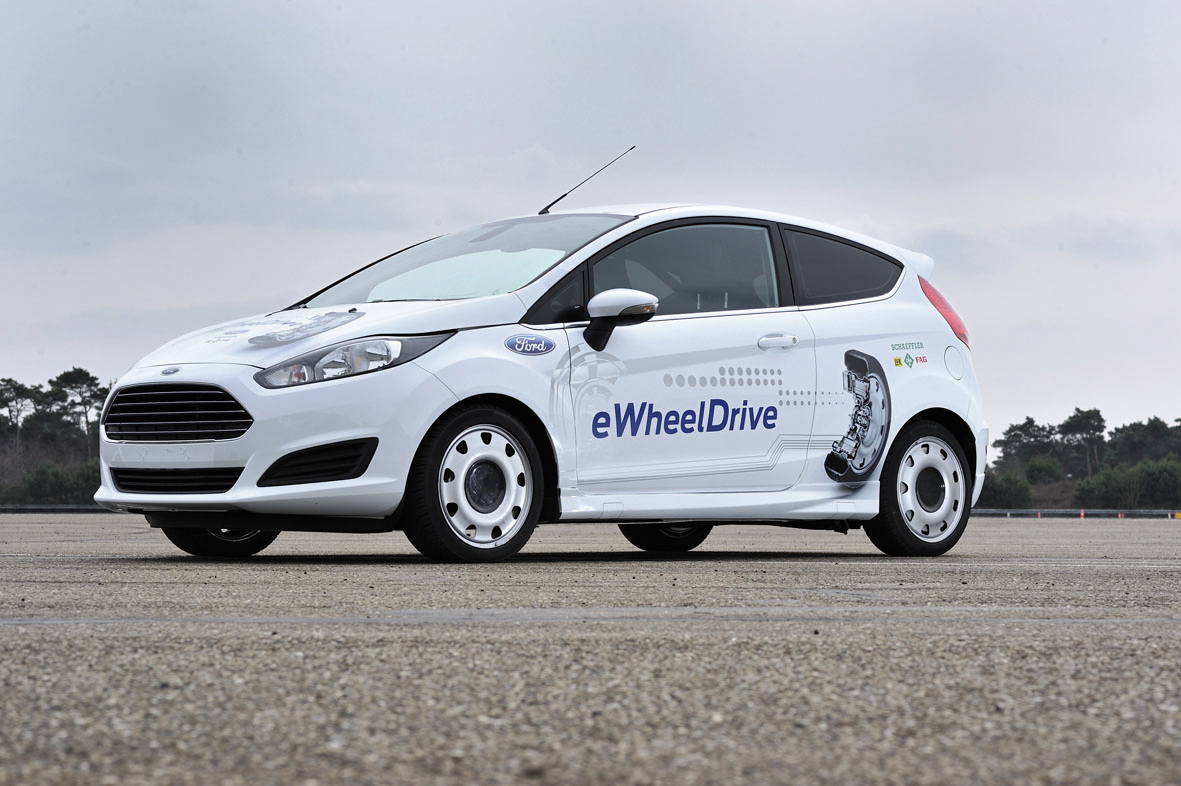 New Ford eWheelDrive Fiesta Prototype