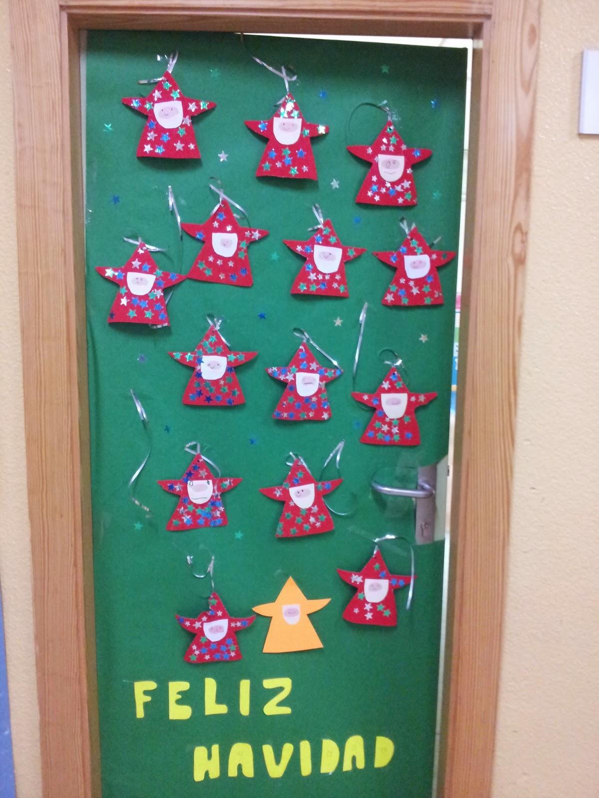 Ceip garcia morente puertas navide as for Puertas decoradas navidad material reciclable
