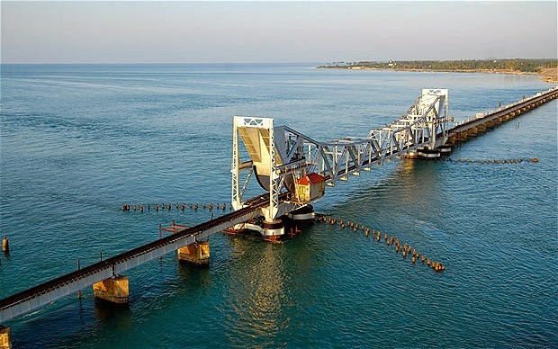 Rameswaram India  city images : Chennai Rameswaram Route, India